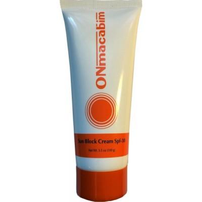 Солнцезащитный крем SPF 30 Onmacabim SUNBLOCK SPF 30 CREAM
