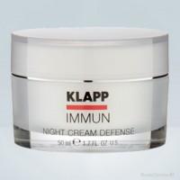 Крем для лица Иммун Ночная Защита KLAPP Immun Night Cream Defence