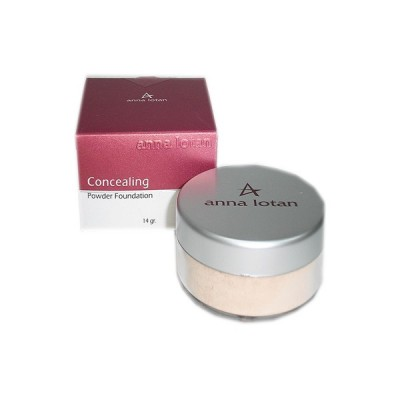 Пудра маскирующая SPF 17 Natural (натуральный) Anna Lotan Concealing Powder Foundation