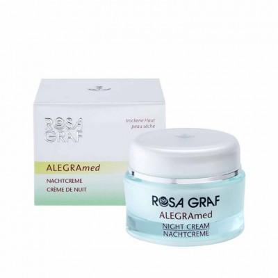 Ночной крем для очень сухой кожи и кожи страдающей от псориаза Rosa Graf Night Cream