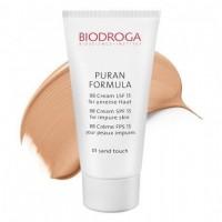 ВВ крем для проблемной кожи СПФ-15 тон 01 песочный Biodroga BB Cream SPF15 for impure skin
