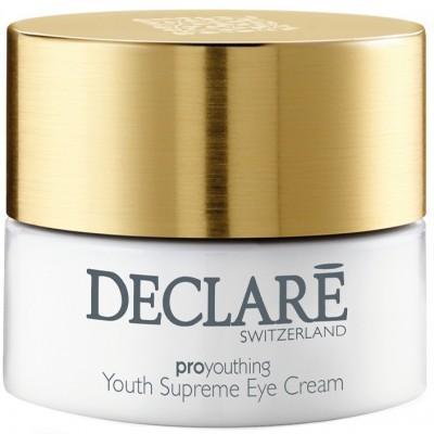 Крем против первых признаков старения для кожи вокруг глаз Declare Youth Supreme Eye Cream