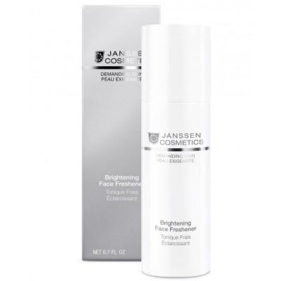 Осветляющий тоник Janssen Brightening Face Freshener