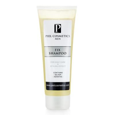 Мужской шампунь с фиксирующим эффектом Piel Cosmetics FIX SHAMPOO