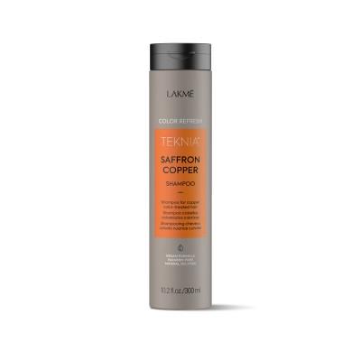 Шампунь для волос медных оттенков Lakme Teknia Color Refresh Saffron Copper