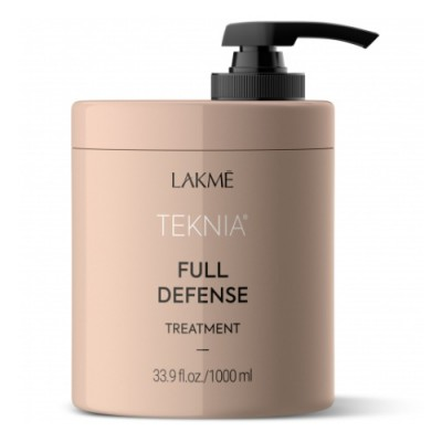 Маска для комплексной защиты волос 1000 мл Lakme Teknia Full Defense Treatment