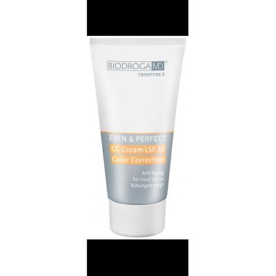 СС Крем цветокорректор для уставшей кожи с СПФ-20 Biodroga MD™ CC Cream SPF 20 Color Correction Anti Aging