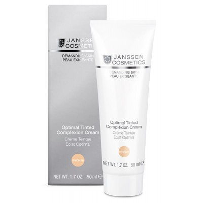 Тональный крем SPF-10 Janssen Optimal Tinted Cream Medium
