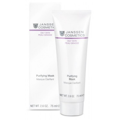 Очищающая маска для жирной кожи Janssen Purifying Mask