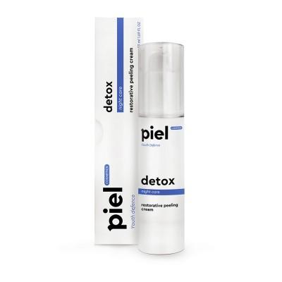 Ночной крем с пиллинг-эффектом Piel Cosmetics DETOX