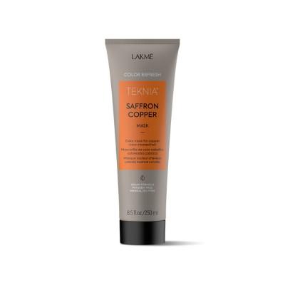 Маска по уходу за волосами медных оттенков Lakme Teknia Color Refresh Saffron Copper Mask