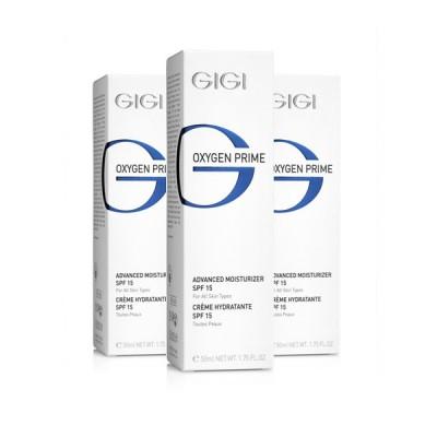 Увлажняющий крем с SPF-15 Oxygen Prime GIGI Advanctd moisturazer SPF-15