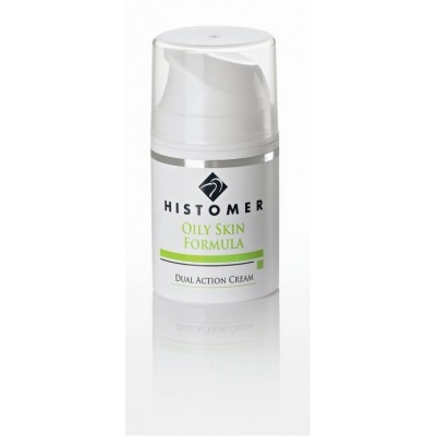 Крем двойного действия Anti-age для жирной кожи HISTOMER OILY SKIN Dual Action Cream