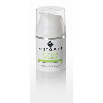 Крем двойного действия Anti-age для жирной кожи HISTOMER OILY SKIN Dual Action Cream