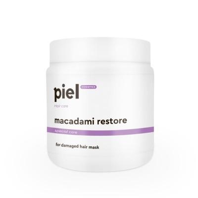 Восстанавливающая маска для поврежденных волос Piel Cosmetics Macadami Restore